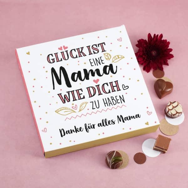 Personalisierte Pralinenschachtel zum Muttertag