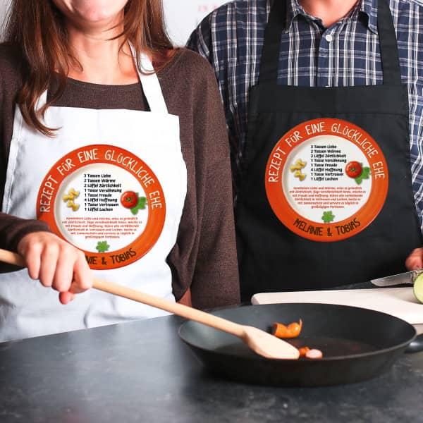 Ausgefallengrillen - Koch Grillschürze Rezept für eine glückliche Ehe - Onlineshop Geschenke online.de