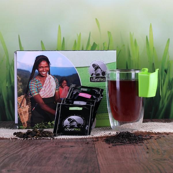 Teebox mit Glas