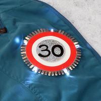 LED - Blink-Button zum 30.Geburtstag