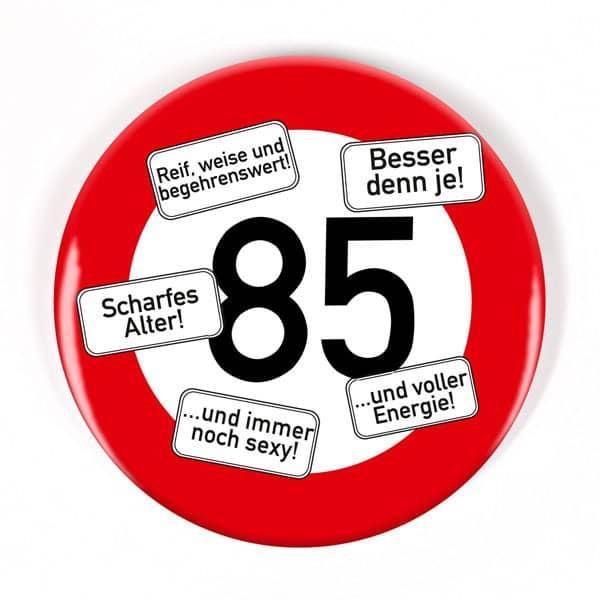 Button zum 85 geburtstag - Geschenke zum 85 geburtstag ...