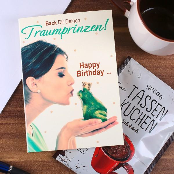 Traumprinz Karte zum Geburtstag