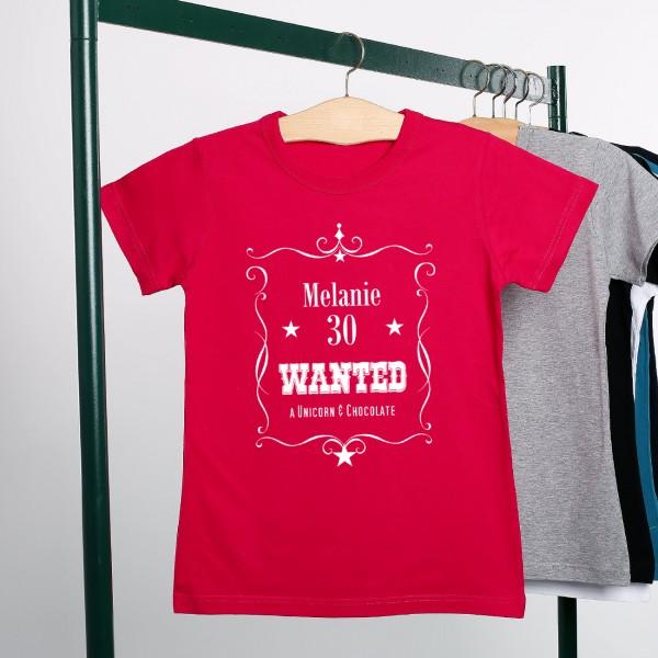 personalisiertes Damenshirt wanted