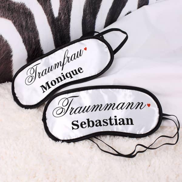 Schlafmasken für Traumpaare