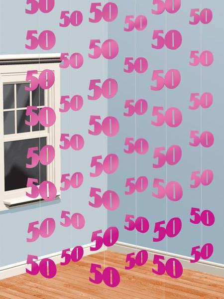 Deckenhänger zum 50. Geburtstag