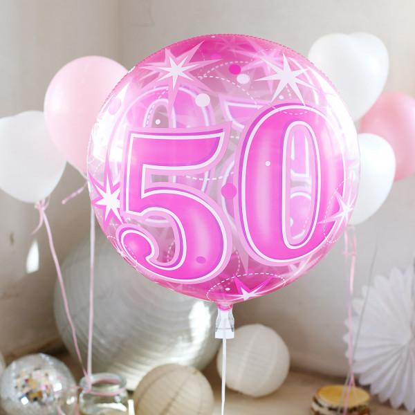 Latex-Ballons zum 50. Geburtstag
