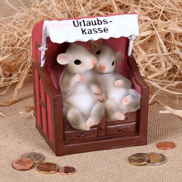 Urlaubskasse für Mäuse