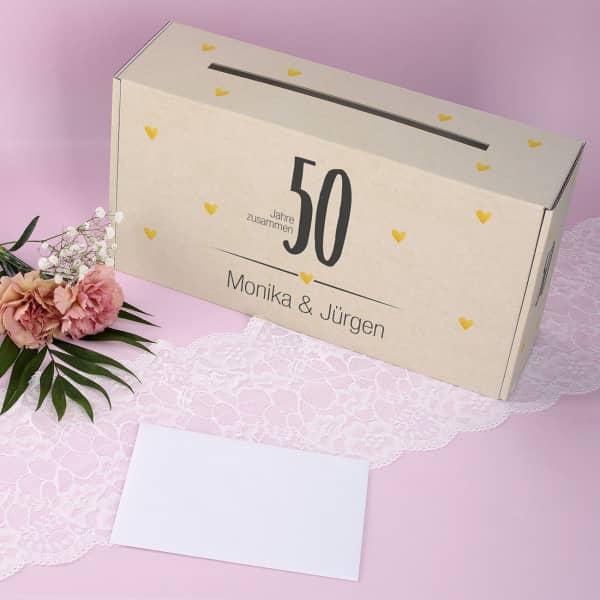 Grosses Gold Deko Set 50 Geburtstag Goldene Hochzeit Jubilaum 50