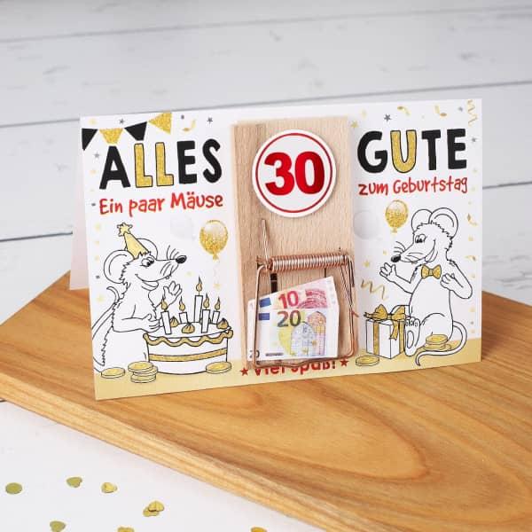 Ein paar Mäuse zum 30. Geburtstag