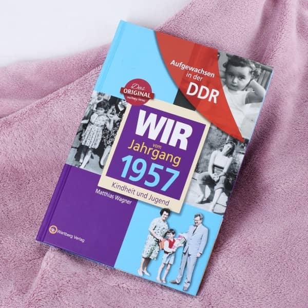 Jahrgangsbuch 1957 Kindheit und Jugend in der DDR