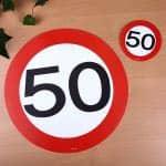 passend zum 50. Geburtstag