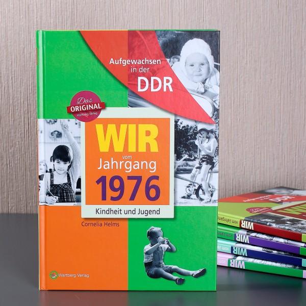 Jahrgangsbuch 1976 Aufgewachsen in der DDR