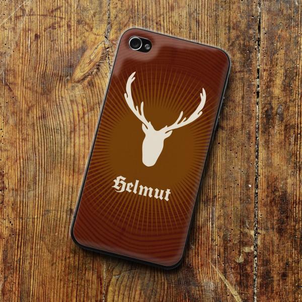 Jelliskin für iPhone 4 mit Jägermotiv