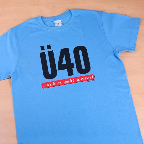 T-shirt Ü40