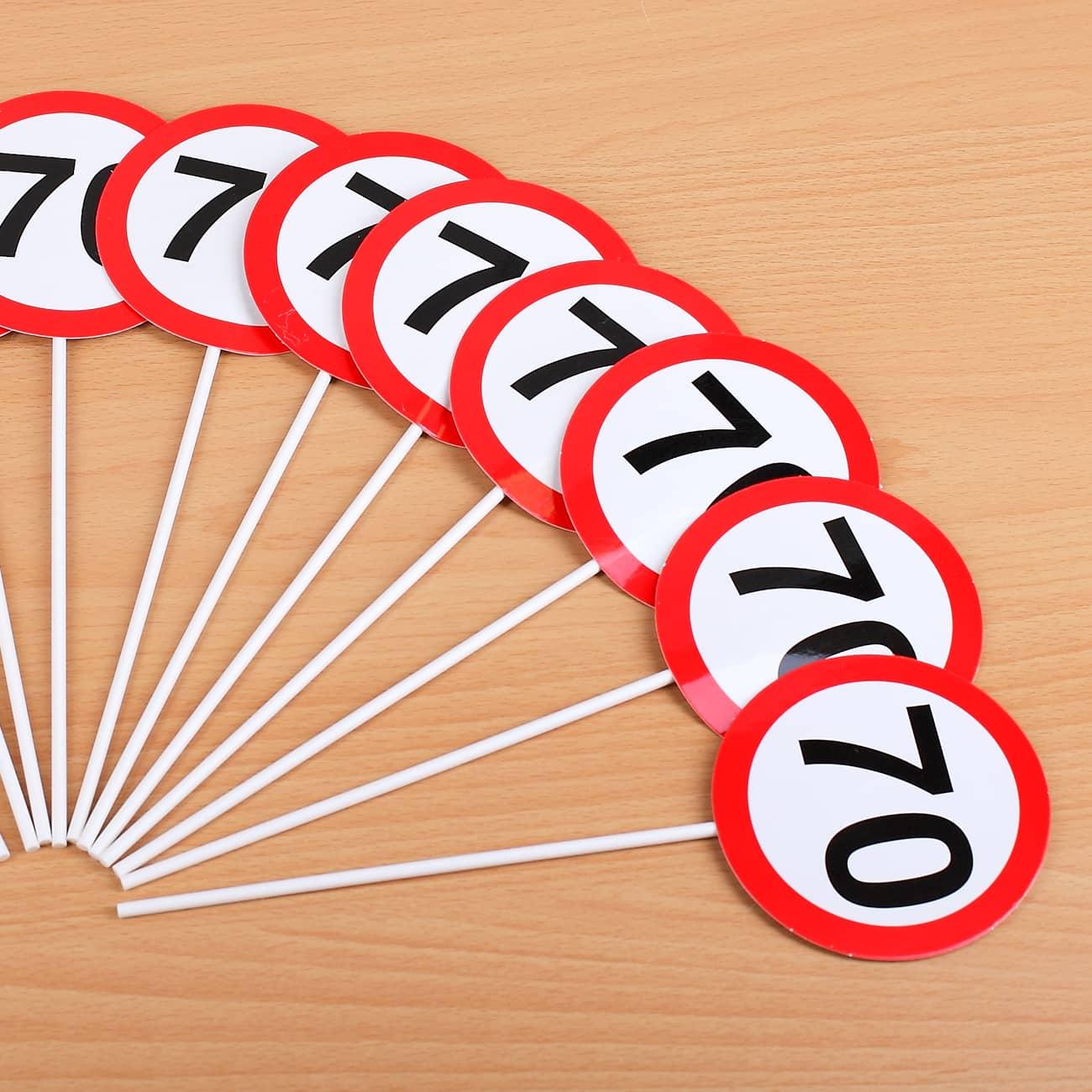12er Set Mini Schilder Zum 70 Geburtstag Geschenke