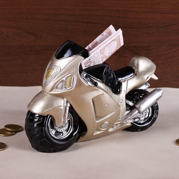 Motorrad Spardose für Biker