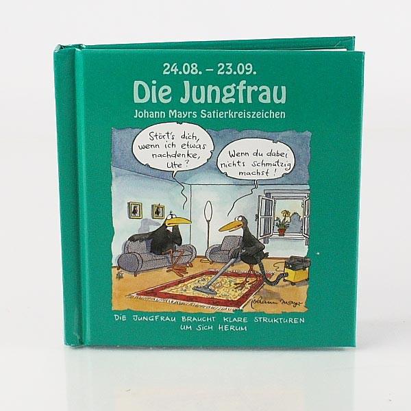 Mini Buch Jungfrau