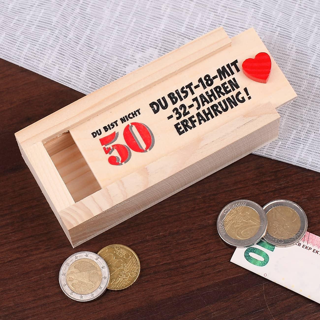geldgeschenk zum 50 geburtstag geschenke. Black Bedroom Furniture Sets. Home Design Ideas