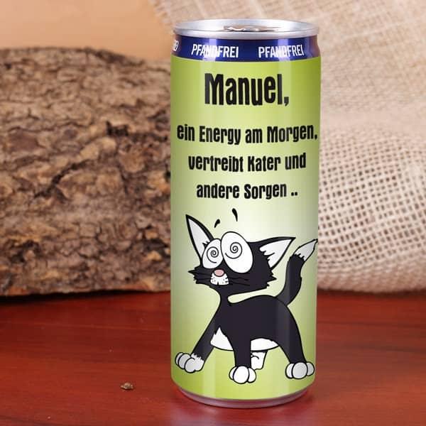 Energy Drink gegen den Kater
