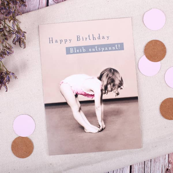 Postkarte - Happy Birthday