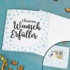 Wunscherfüller - Karte für Geld oder Gutscheine