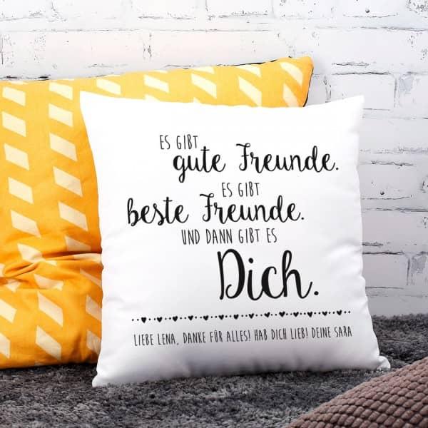 kuschelkissen mit spruch und ihrem wunschtext. Black Bedroom Furniture Sets. Home Design Ideas