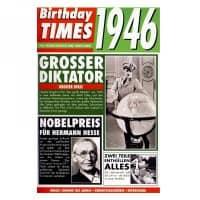Birthday Times Karte mit Sound 1946