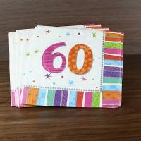 Servietten - zur Party - 60