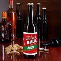 Bieraufkleber Feierabendbier mit Wunschname