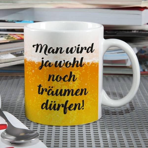 Tasse für Bier - Liebhaber