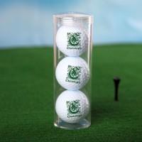 Personalisierte Golfbälle mit Wunschname und Initial