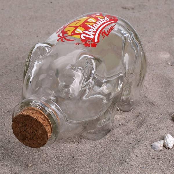 Flaschenpost Sparschwein - Urlaub