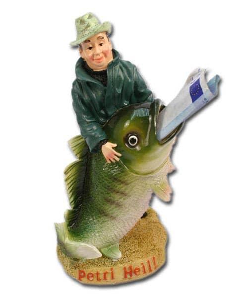 Spardose für Angler