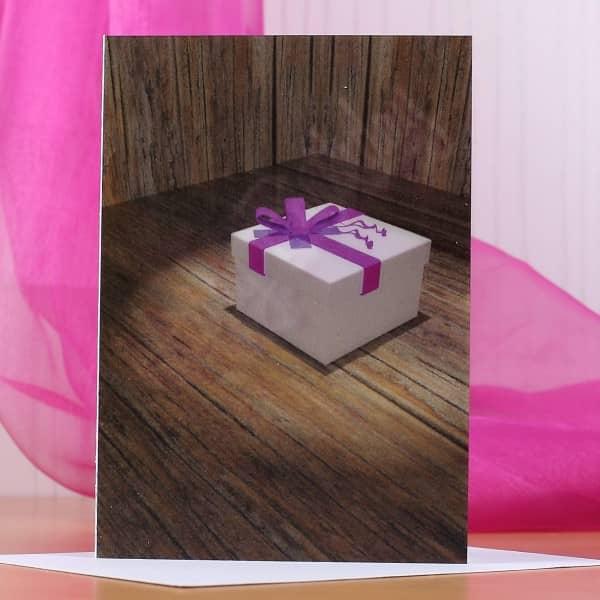 Wackelkarte zum Geburtstag - Geschenk