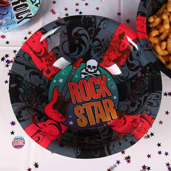 Schale aus Kunststoff Rock Star
