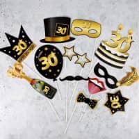 Foto Accessoire Set - Star zum 30. Geburtstag