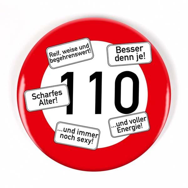 Button zum 110. Geburtstag
