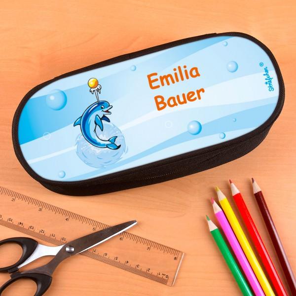 Stiftebox für Kinder mit Delfin