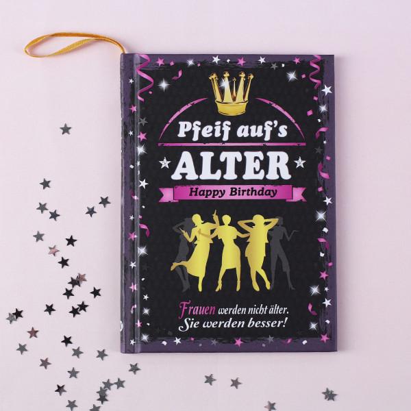 Happy Birthday Spaßbuch für Frauen