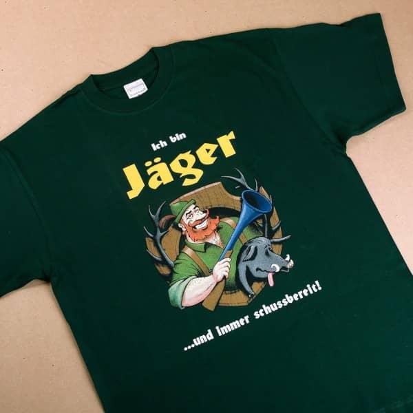 T-Shirt: Ich bin Jäger