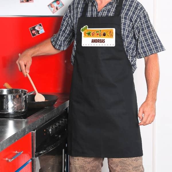 Kochschürze für den Chefkoch