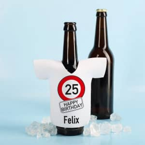Flaschenkühler zum Geburtstag mit Name