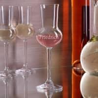 Personalisiertes Grappaglas mit Ihrem Wunschnamen