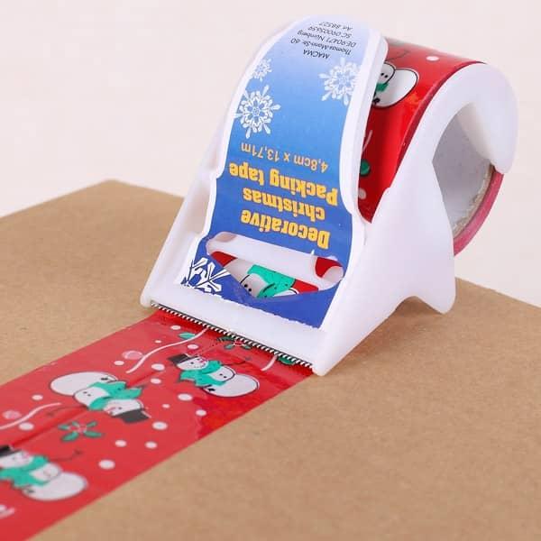 Paketklebeband zu Weihnachten