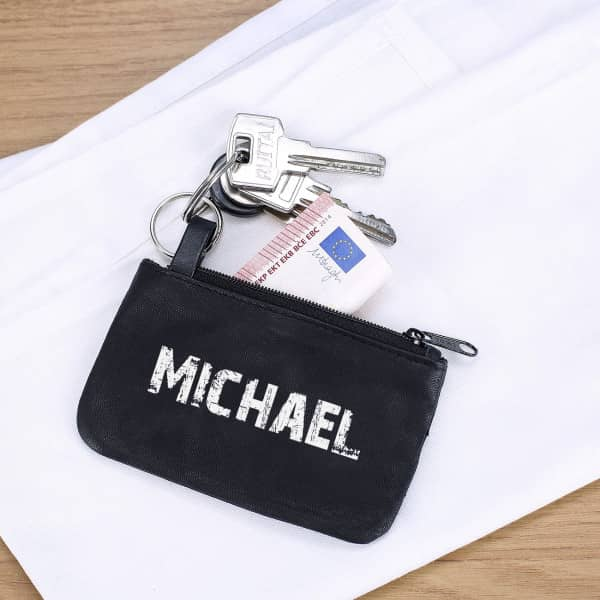 Schlüsseltasche mit ihrem Namen