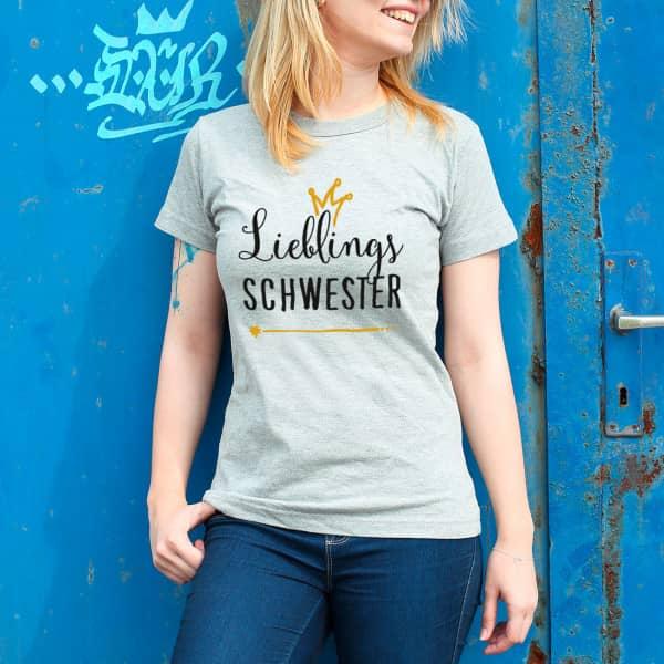 T-Shirt Lieblings ... in Sport Grey
