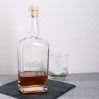 Whiskeykaraffe mit persönlicher Gravur Gentleman