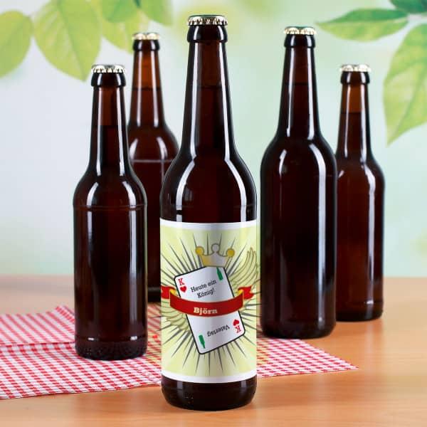 Bieraufkleber Vatertag