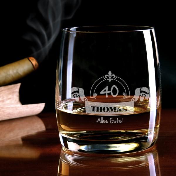 Alles Gute Whiskyglas mit Gravur