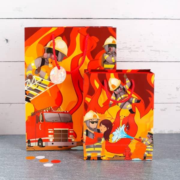 Geschenkverpackung für Feuerwehrmänner